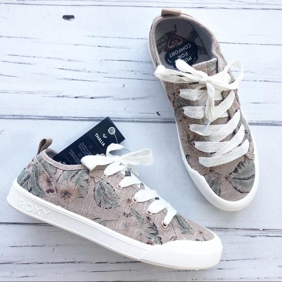 Roxy Shoes   Roxy Thalia Canvas Sneaker